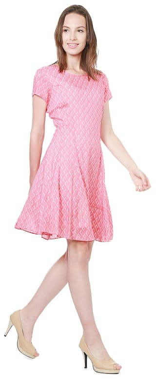 Modal Allen Regular Dresses Pink Solly w5qCYO