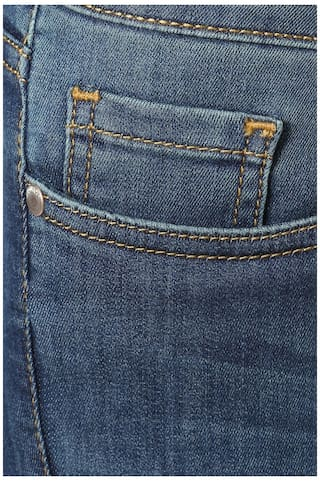 Blue Jeans Blended Allen Solly Slim Fit 8wqqPU4