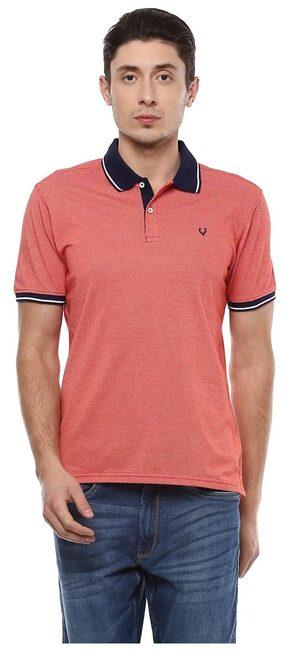 Allen Solly Red T Shirt