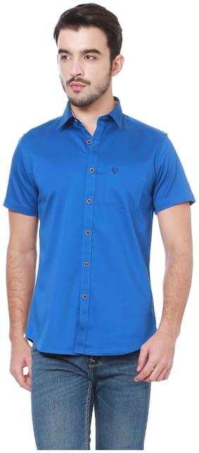 Allen Solly Men Slim fit Casual shirt - Blue