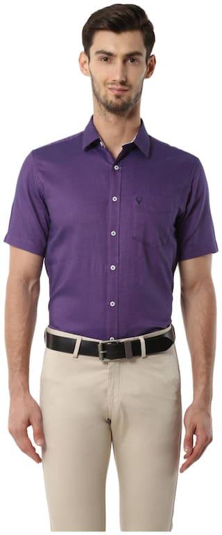 Allen Solly Men Regular fit Formal Shirt - Blue
