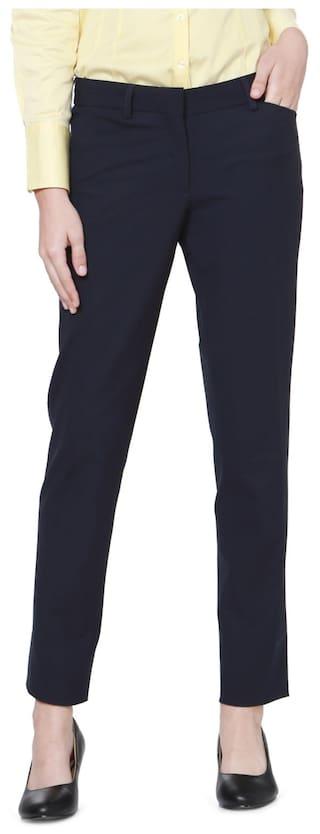 Allen Solly Navy Trousers