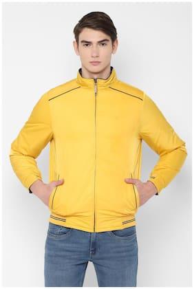 Men Polyester Full Sleeves Jacket