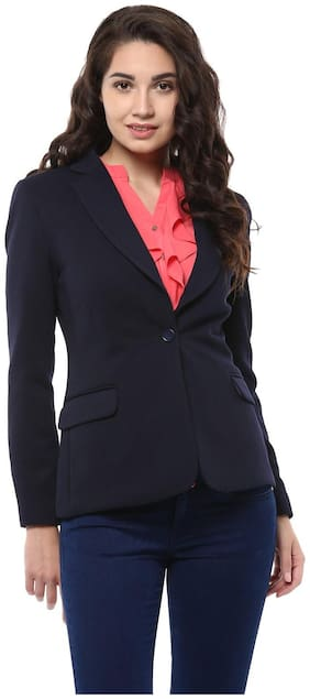 Women Blended Regular FIt Blazer