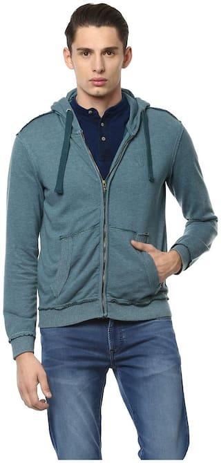 Allen Solly Blue Sweatshirt