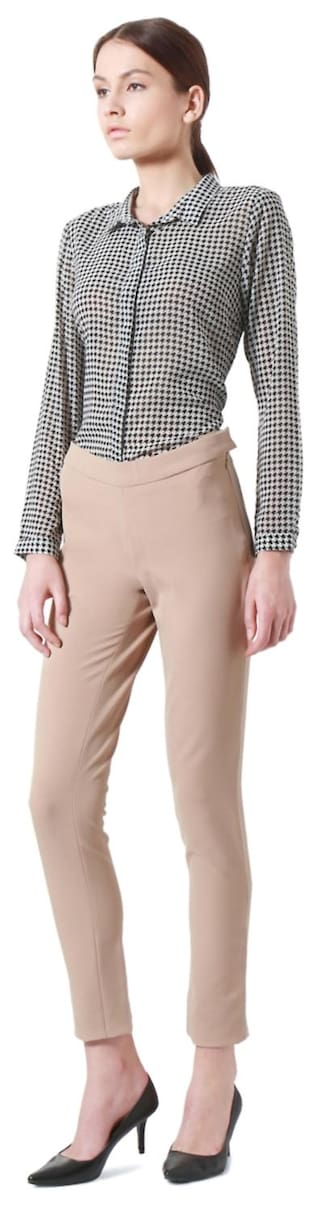 Casual Trouser Allen Blended Solly Regular Beige Xxn7A4Iq