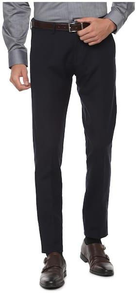 Men Slim Fit Formal Trouser Pack Of 1