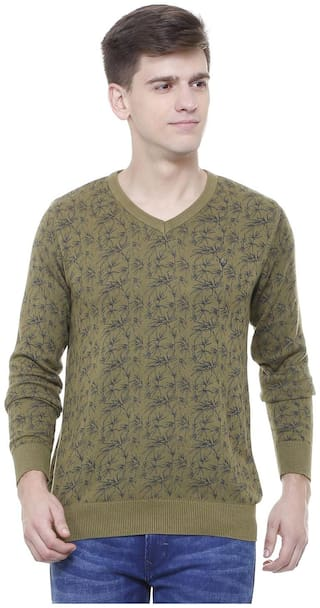 Allen Solly Olive Sweater