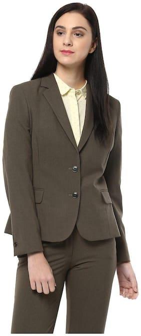Women Blended Slim Fit Blazer