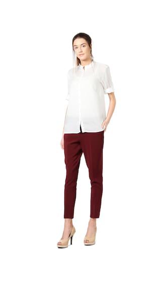 Allen Solly Solly Allen Shirt White rraqwCv
