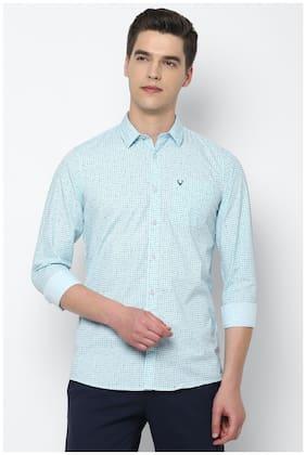 Men Regular Fit Checked Casual Shirt