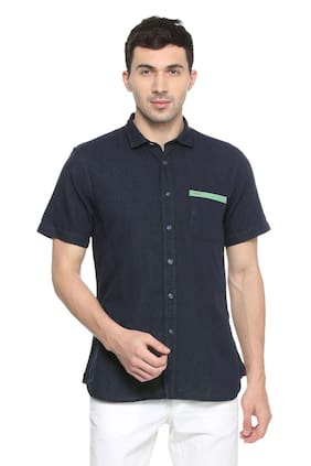 Allen Solly Men Regular Fit Casual shirt - Blue