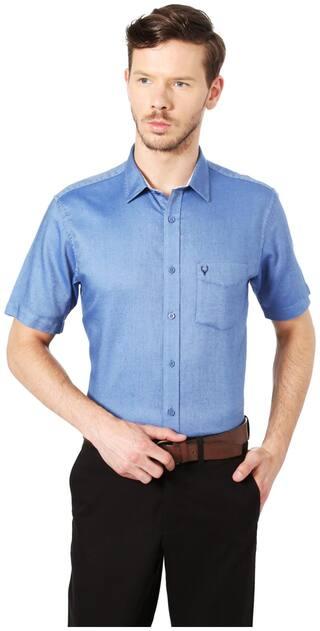 Allen Solly Men Slim fit Formal Shirt - Blue