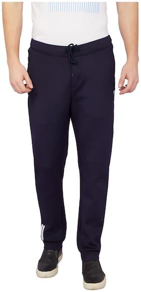 Slim Fit Polyester Blend Track Pants