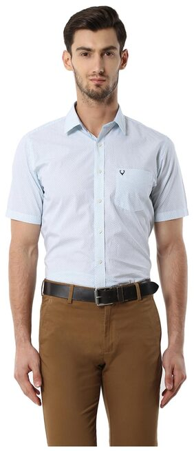 Allen Solly Men Slim Fit Casual shirt - Blue