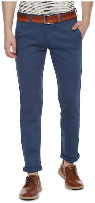 Allen Solly Blue Trousers