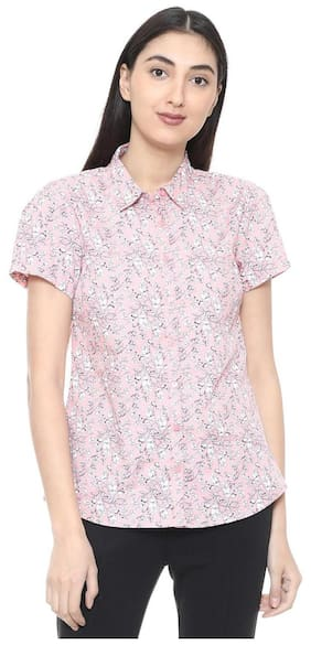 1d67250ac907f8 Allen Solly Women's Shirt - Buy Allen Solly Shirts Online at Best ...