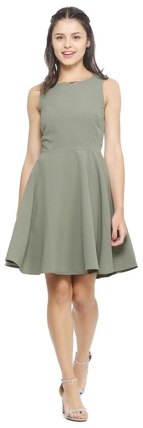 Allen Solly Olive Dress