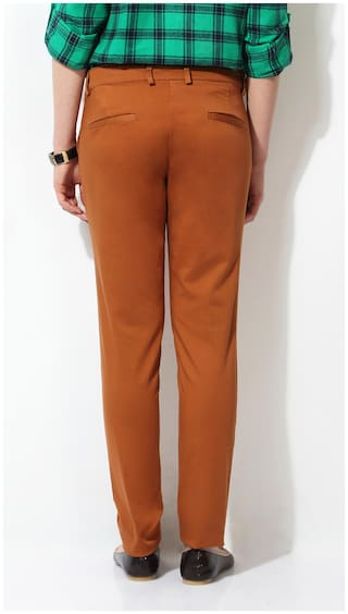 Solly Allen Cotton Trouser Allen Brown Solly qgz8E