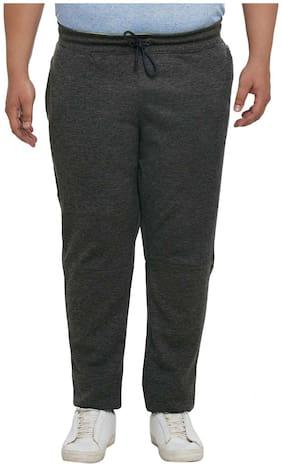 Alto Moda by Pantaloons Men Polyester blend Track Pants - Grey