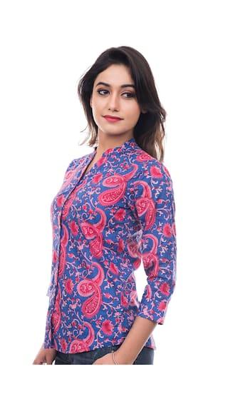 Amadore Women's Printed Casual Shirt