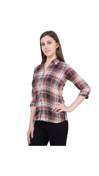 Color Women's Multi American Elm Casual Shirt UtnPwBxq
