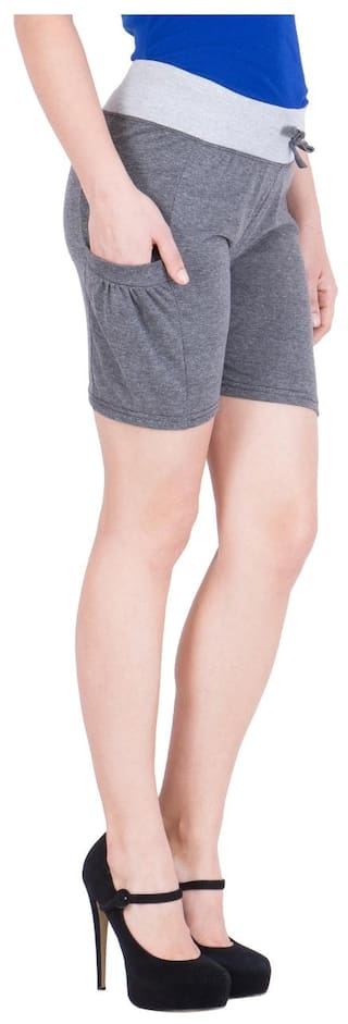 2 Shorts Elm Women's Grey;Blue of American Pack Dark xFW1TwPF7q