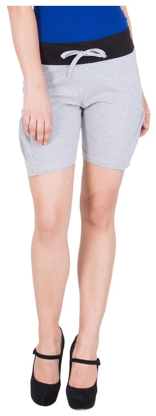 Elm Hot Women's American Grey Shorts 0wOd61q