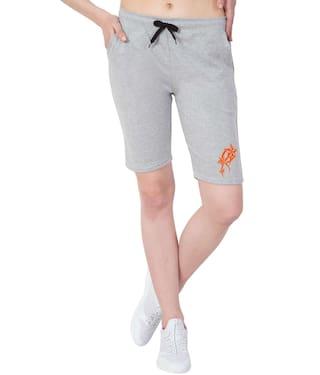 Printed Light Cotton Orange Capris Star Grey Short Elm American Women's xqEw6nPfW0