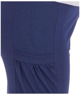 Women's American Shorts Cotton Elm Blue 4qxTgS