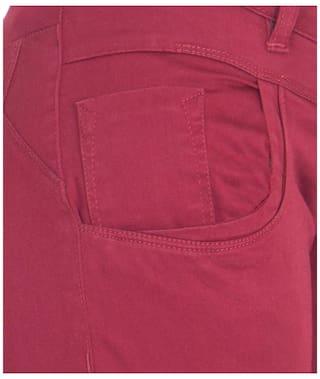 American-Elm Women's Cotton Capri Pack of 2