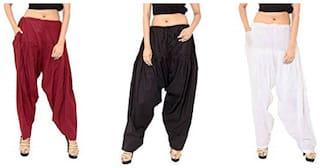 Ample Sales Cotton Patiala & Salwar - Black