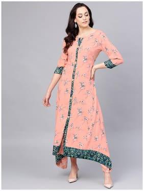 Women Printed A-Line Kurti Dress