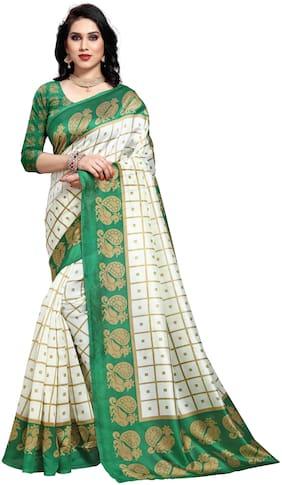 Silk Kalamkari Saree ,Pack Of 1