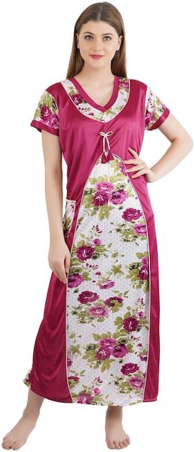 Women Floral Nightdress