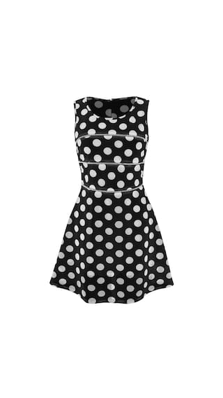 A Hollow Dot line Sleeveless Party Sweet Sundress Casual Dress Ladies Slim ANGVNS Women fqxggR
