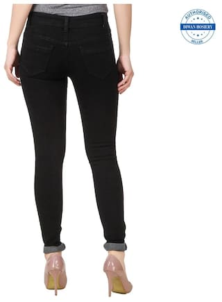 Jeans Collection Black Solid Women's Anixa fSvxZwqZ