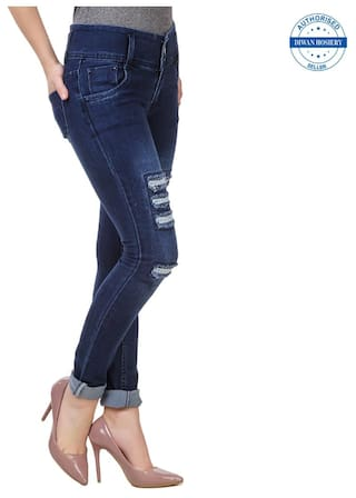 Blue Women's Collection Anixa Navy Jeans 1qtd5Y