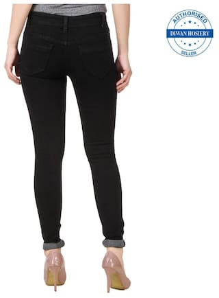 Solid Jeans Black Anixa Women's Collection Combo Of 2 qwPnEFx6