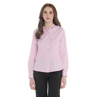 Design Cotton Self Annabelle Pantaloons Women's Pink Shirt by qf4f7wH