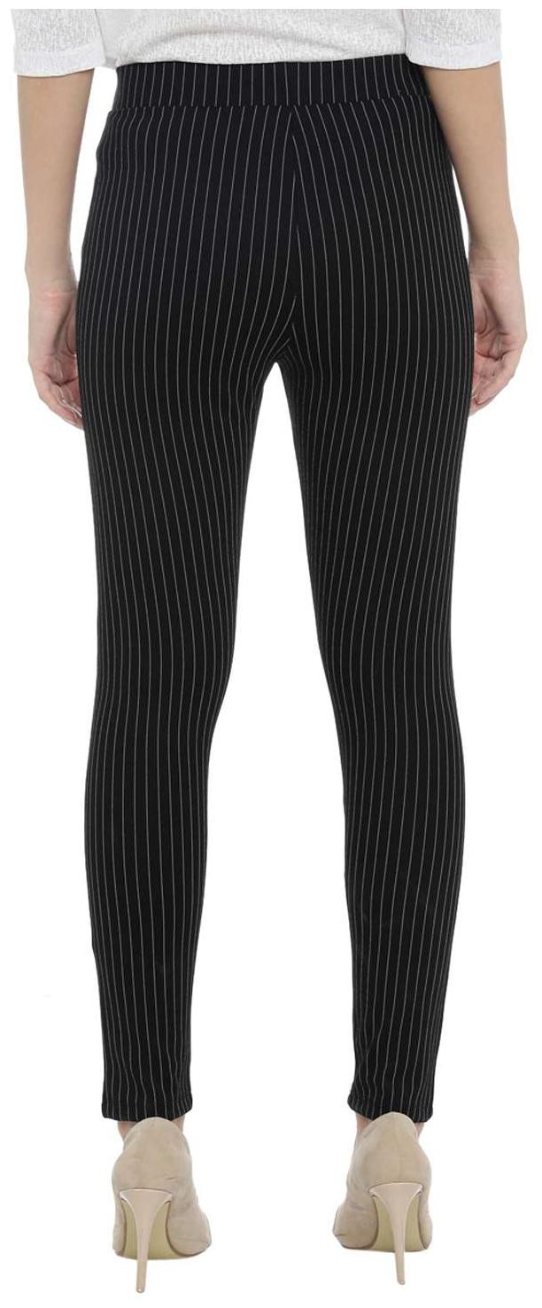 1bdaa0d128059f Buy Annabelle By Pantaloons Women Slim Fit Mid Rise Printed Jegging - Black  Online at Low Prices in India - Paytmmall.com