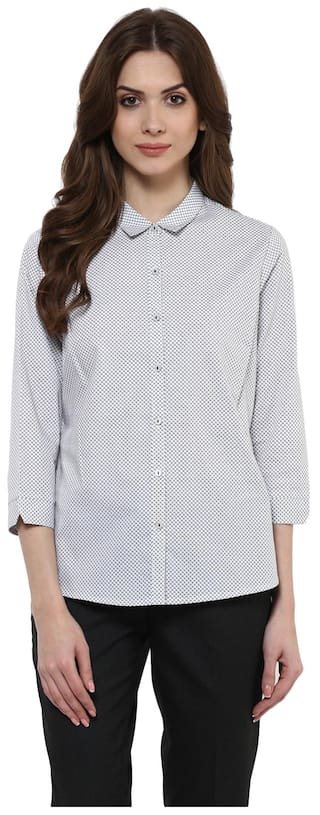 Annabelle By Pantaloons Women's White Shirts