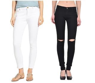 944ba6f392ed Ansh Fashion Wear Women s Denim Jeans - Contemporary Regular Fit Denims for  Women - Mid Rise