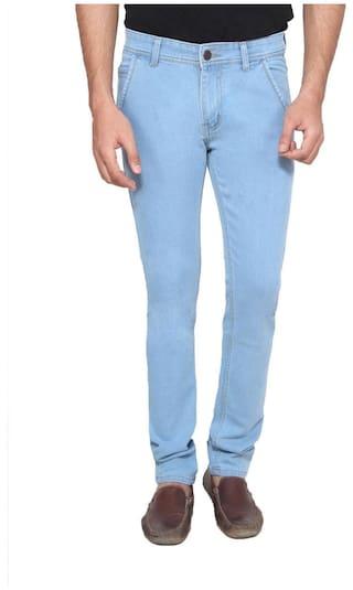 Ansh Fashion Wear Men's Wear Stechable Regular Fit Denim Jeans