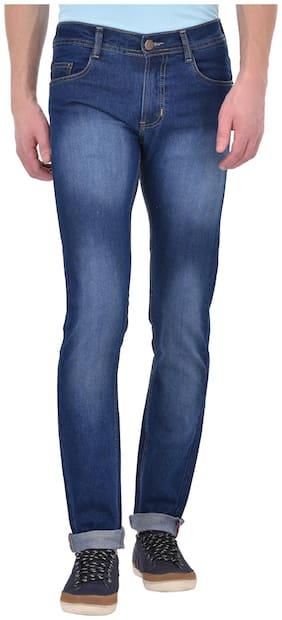 Ansh Fashion Wear Men Low rise Skinny fit Jeans - Blue