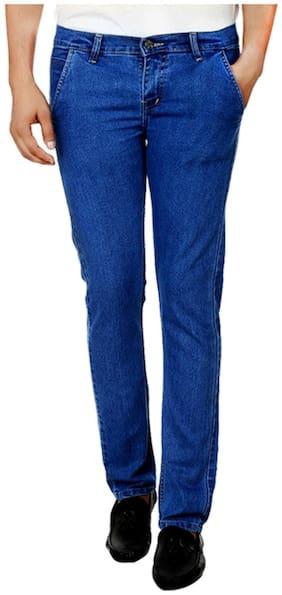 Ansh Fashion Wear Men Mid rise Regular fit Jeans - Blue