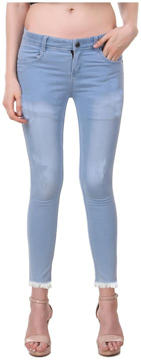 Women Straight Fit Jeans Pack Of 1