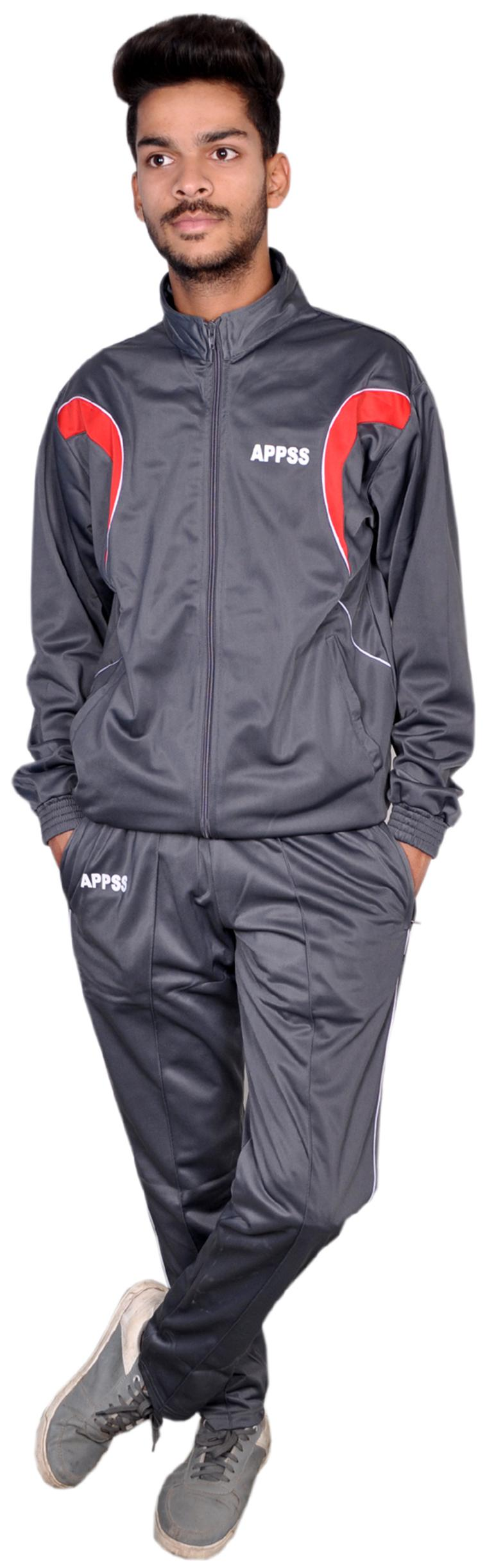 APPSS SPORTS Tracksuit for Men;Regular Super Poly Tracksuit Regular fit Stylish Casual...