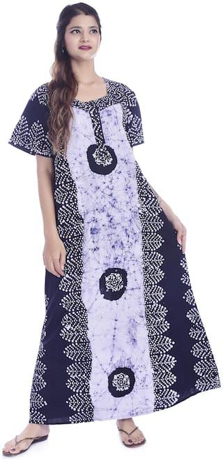 Apratim Blue Night Gown