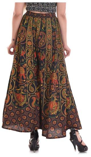 Apratim Color Palazzo Multi Cotton Flared Women Pants U66qP7w0y